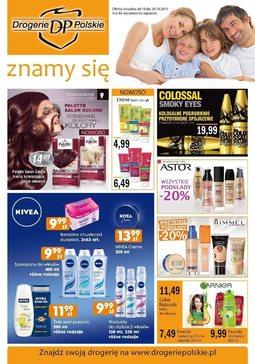 Gazetka promocyjna Drogerie Polskie, ważna od 10.10.2012 do 24.10.2012.