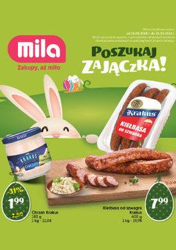 Gazetka promocyjna MILA, ważna od 13.03.2018 do 25.03.2018.