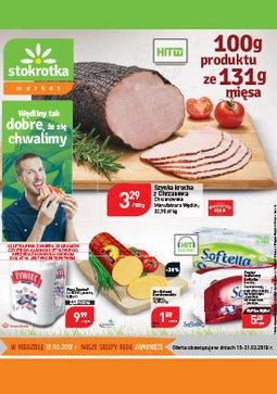 Gazetka promocyjna Stokrotka, ważna od 15.03.2018 do 21.03.2018.