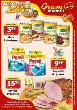 Gazetka promocyjna Gram Market, ważna od 14.03.2018 do 20.03.2018.
