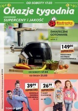 Gazetka promocyjna Biedronka, ważna od 17.03.2018 do 03.04.2018.