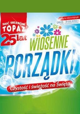 Gazetka promocyjna Topaz, ważna od 09.03.2018 do 31.03.2018.