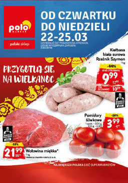 Gazetka promocyjna POLOmarket, ważna od 22.03.2018 do 25.03.2018.