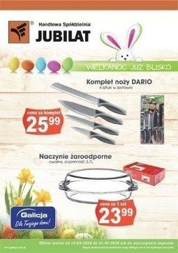 Gazetka promocyjna Jubilat, ważna od 12.03.2018 do 31.03.2018.