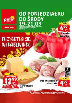 Gazetka promocyjna POLOmarket, ważna od 19.03.2018 do 21.03.2018.
