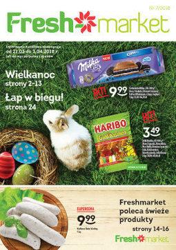 Gazetka promocyjna Freshmarket, ważna od 21.03.2018 do 03.04.2018.