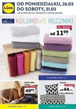 Gazetka promocyjna Lidl, ważna od 26.03.2018 do 31.03.2018.