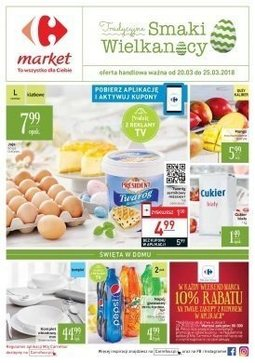 Gazetka promocyjna Carrefour Market, ważna od 20.03.2018 do 25.03.2018.
