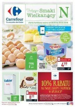 Gazetka promocyjna Carrefour, ważna od 20.03.2018 do 25.03.2018.