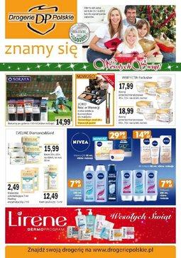 Gazetka promocyjna Drogerie Polskie, ważna od 06.12.2012 do 24.12.2012.