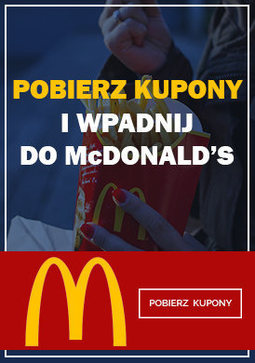 Gazetka promocyjna McDonald's, ważna od 20.03.2018 do 25.03.2018.
