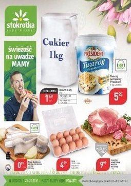 Gazetka promocyjna Stokrotka, ważna od 22.03.2018 do 28.03.2018.