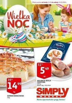 Gazetka promocyjna Simply Market, ważna od 21.03.2018 do 31.03.2018.