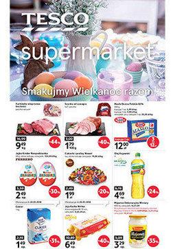 Gazetka promocyjna Tesco Supermarket, ważna od 22.03.2018 do 31.03.2018.