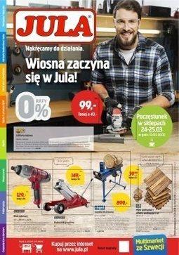 Gazetka promocyjna Jula, ważna od 21.03.2018 do 08.04.2018.