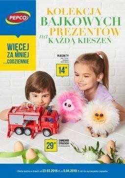 Gazetka promocyjna Pepco, ważna od 23.03.2018 do 05.04.2018.