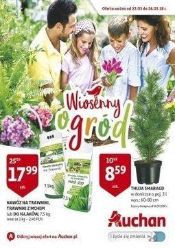 Gazetka promocyjna Auchan, ważna od 22.03.2018 do 26.03.2018.
