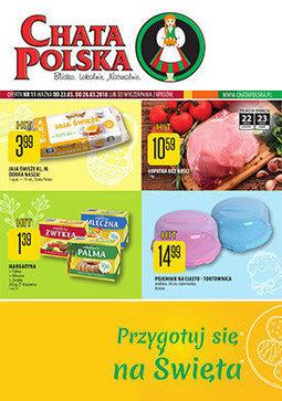 Gazetka promocyjna Chata Polska, ważna od 22.03.2018 do 28.03.2018.