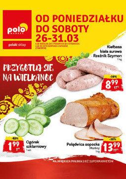 Gazetka promocyjna POLOmarket, ważna od 26.03.2018 do 31.03.2018.