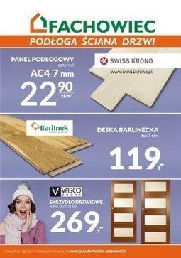 Gazetka promocyjna Fachowiec, ważna od 15.02.2018 do 30.04.2018.