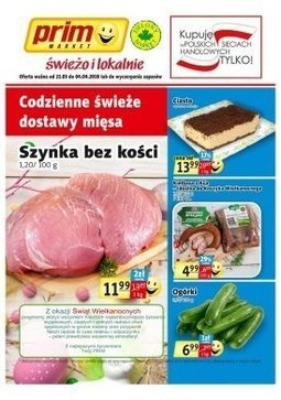 Gazetka promocyjna Prim Market, ważna od 22.03.2018 do 04.04.2018.