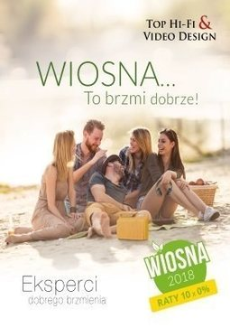 Gazetka promocyjna Top Hi-Fi & Video Design, ważna od 21.03.2018 do 01.06.2018.
