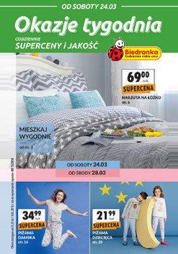 Gazetka promocyjna Biedronka, ważna od 24.03.2018 do 10.04.2018.