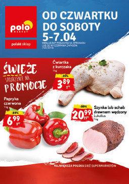 Gazetka promocyjna POLOmarket, ważna od 05.04.2018 do 07.04.2018.