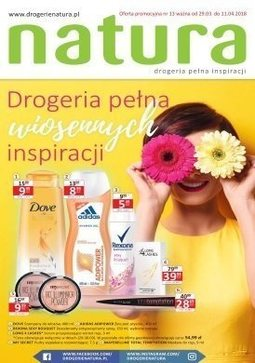 Gazetka promocyjna Drogerie Natura, ważna od 29.03.2018 do 11.04.2018.