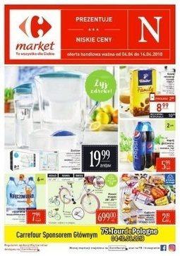 Gazetka promocyjna Carrefour Market, ważna od 04.04.2018 do 14.04.2018.
