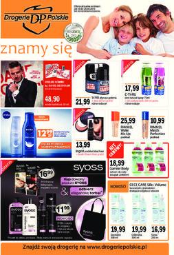 Gazetka promocyjna Drogerie Polskie, ważna od 10.04.2013 do 24.04.2013.