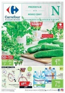 Gazetka promocyjna Carrefour, ważna od 04.04.2018 do 14.04.2018.