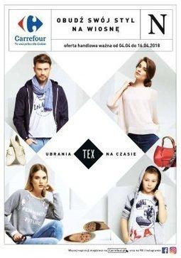 Gazetka promocyjna Carrefour, ważna od 04.04.2018 do 16.04.2018.
