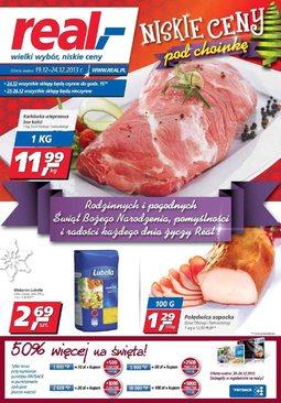 Gazetka promocyjna Real, ważna od 19.12.2013 do 24.12.2013.