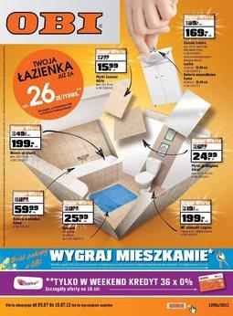 Gazetka promocyjna Obi, ważna od 05.07.2013 do 18.07.2013.