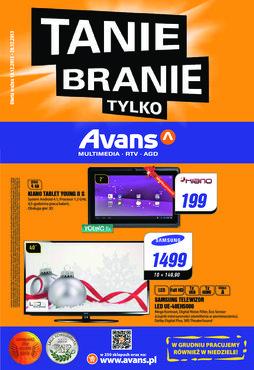 Gazetka promocyjna Avans, ważna od 19.12.2013 do 26.12.2013.