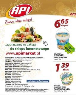 Gazetka promocyjna Api Market, ważna od 27.12.2013 do 14.01.2014.