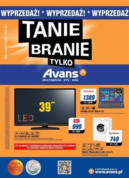 Gazetka promocyjna Avans, ważna od 27.12.2013 do 08.01.2014.