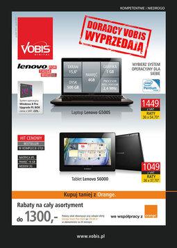Gazetka promocyjna Vobis, ważna od 30.12.2013 do 20.01.2014.