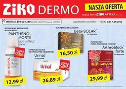 Gazetka promocyjna Ziko Dermo , ważna od 05.07.2013 do 04.09.2013.