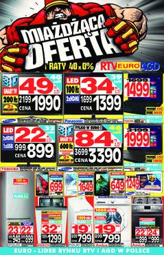 Gazetka promocyjna RTV EURO AGD, ważna od 03.01.2014 do 30.01.2014.