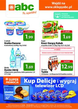 Gazetka promocyjna ABC, ważna od 19.06.2013 do 30.06.2013.