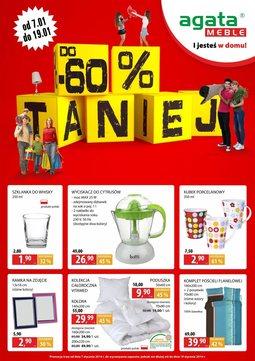 Gazetka promocyjna Agata , ważna od 07.01.2014 do 19.01.2014.