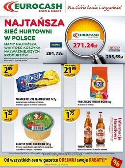 Gazetka promocyjna Eurocash Cash&Carry, ważna od 07.01.2014 do 19.01.2014.