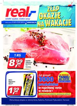 Gazetka promocyjna Real, ważna od 11.07.2013 do 17.07.2013.