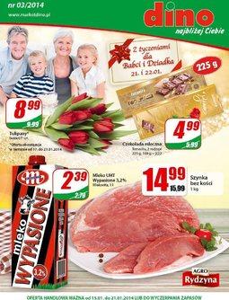Gazetka promocyjna Dino, ważna od 15.01.2014 do 21.01.2014.