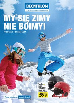 Gazetka promocyjna Decathlon, ważna od 10.01.2014 do 02.02.2014.