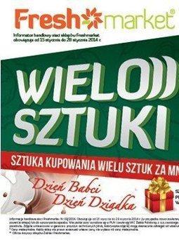 Gazetka promocyjna Freshmarket, ważna od 15.01.2014 do 28.01.2014.