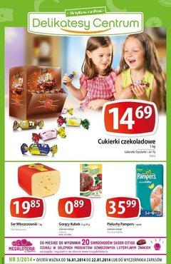 Gazetka promocyjna Delikatesy Centrum, ważna od 16.01.2014 do 22.01.2014.