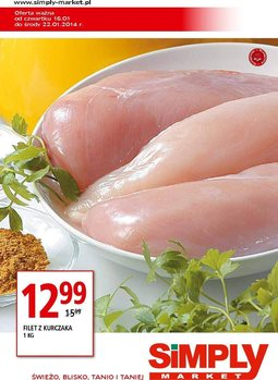 Gazetka promocyjna Simply Market, ważna od 16.01.2014 do 22.01.2014.